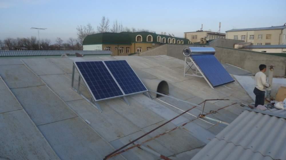 Установка альтернативных источников электроенергии и тепла