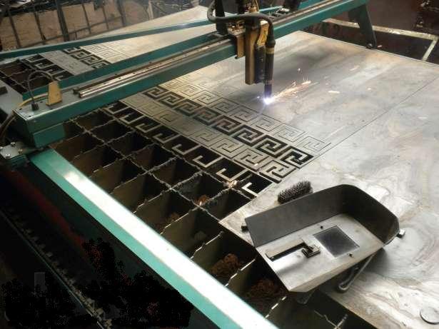 Плазменная резка металла по чертежам заказчика