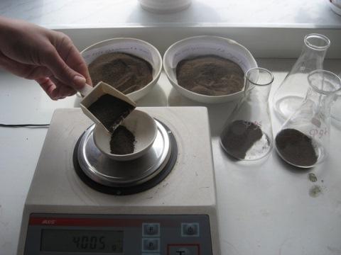 Агрохимический анализ торфосмеси и торфа для выращивания рассады