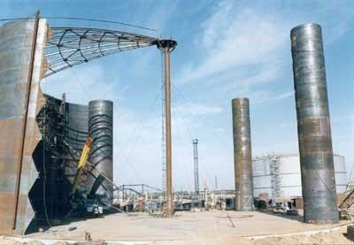 Изготовление и монтаж резервуаров различных емкостей