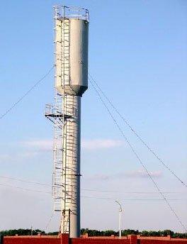 Водонапорные башни объемом бака 15м3, 25м3, 50м3, 75м3