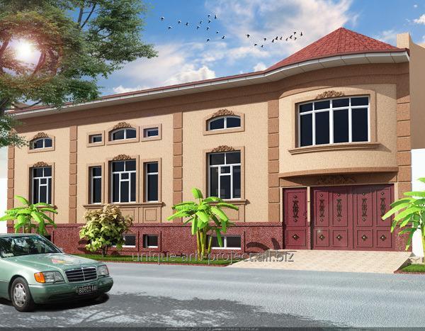 Дизайн экстерьера домов коттеджей