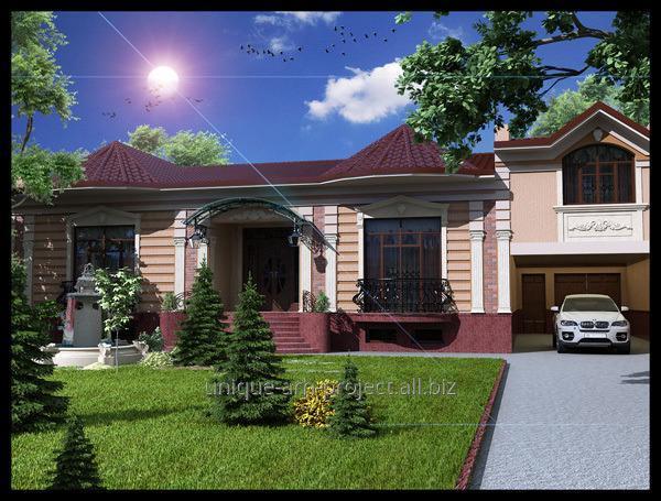 Дизайнерское оформление домов