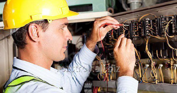 Заказать Услуги электрика монтажные