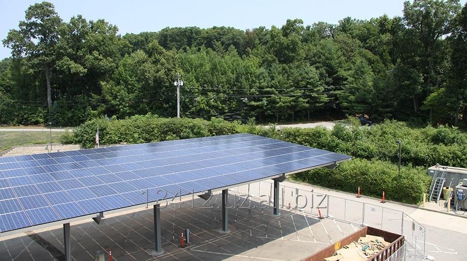 Заказать Установка солнечных панелей