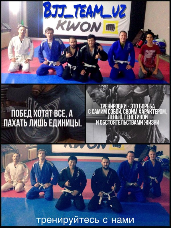 Заказать Тренировки по бразильскому джиу джитсу в Ташкенте