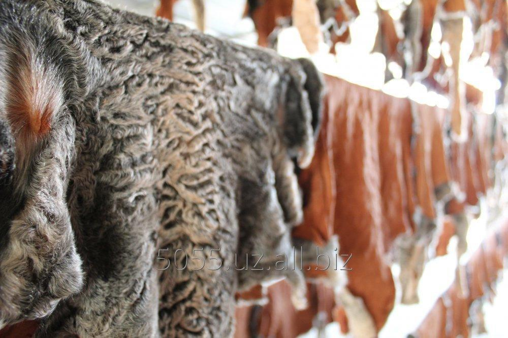 Order Manufacture and dyeing of a fur and fur semi-finished produc