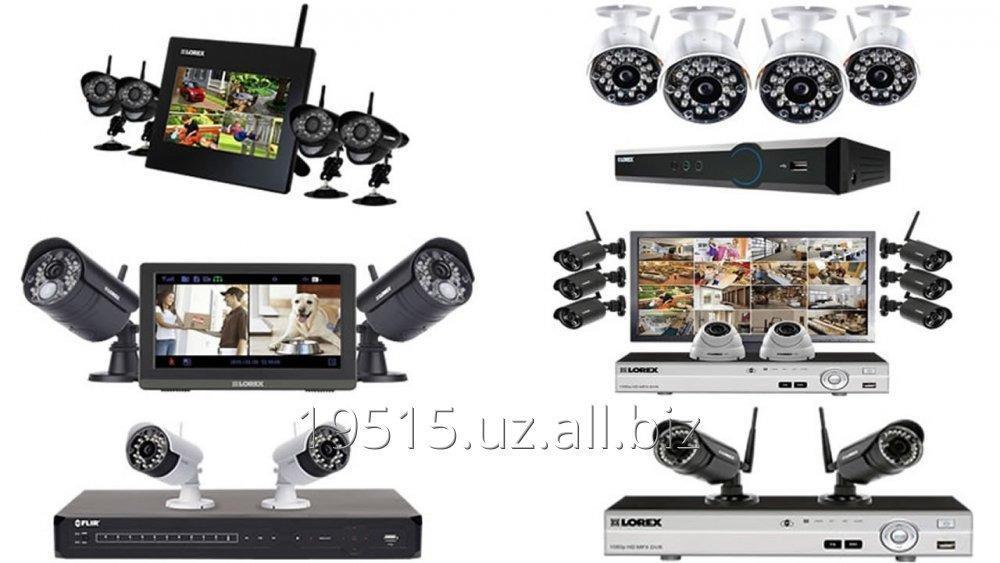 Заказать Комплект с 3 камерами видеонаблюдения