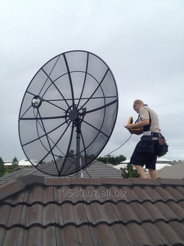Заказать Установка спутниковых антенн в Ташкенте и в вилоятах - форма оплата любая!