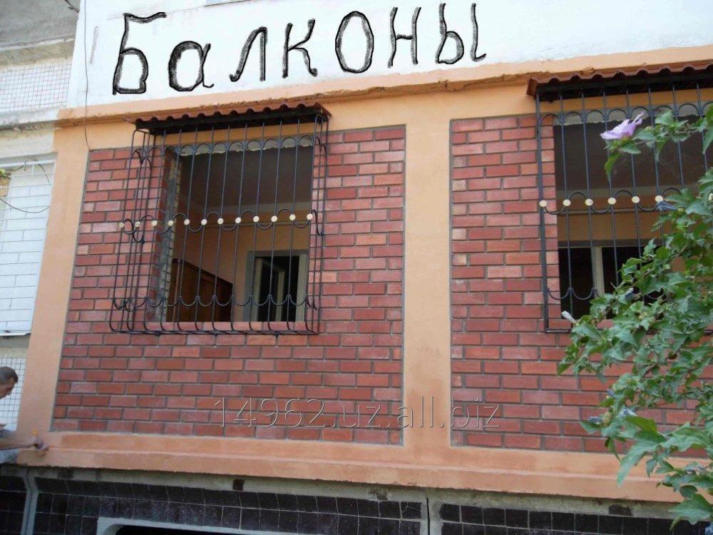 Заказать Кладка кирпича , балконов