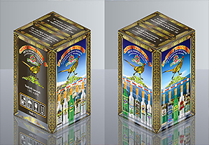 Заказать Дизайн упаковки стеклотары