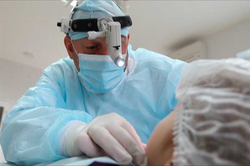 Заказать Лазерная операция ЛОР органов