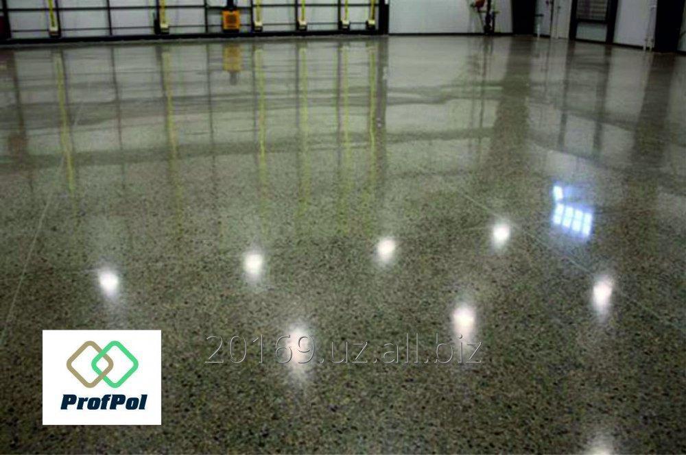 Заказать Полированный бетонный пол