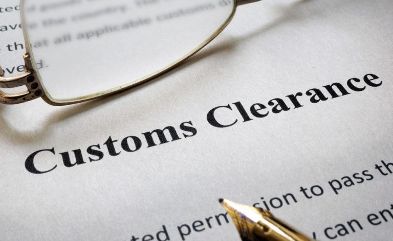 Заказать Таможенная очистка (уплата всех причитающихся таможенных платежей);