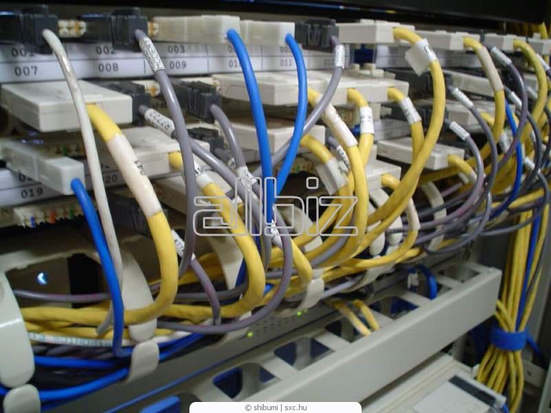 Заказать Создание, монтаж ЛВС (LAN)локально-вычислительных сетей