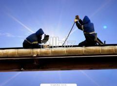 Услуги по строительству газопроводов