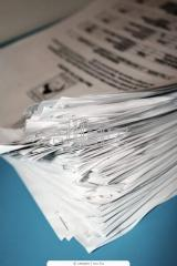Оформление документов в бюро технической