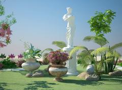Ландшафтный дизайн, проектирование, 3d