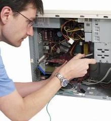 Обслуживание, наладка и ремонт компьютеров