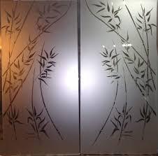 Обработка стекла пескоструйная