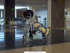 Transfer and delivery of baggage. A meeting at the