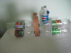 Проект Пластиковая бутылка-конструктор.
