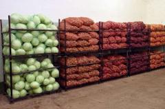 Камеры хранения овощей