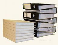 Переплет бухгалтерских, финансовых и юридических