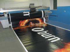 Печать широкоформатная на металле