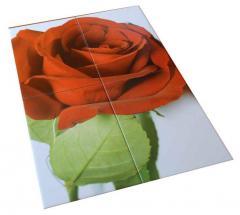 Печать широкоформатная на пластике