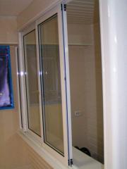 Установка аллюминиевых окон