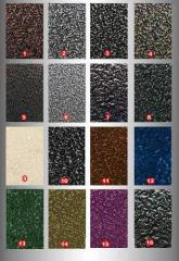 Полимерное порошковое напыление на металлические