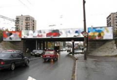 Реклама на мостах