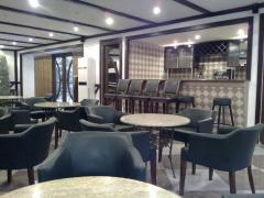 Cafe and bar in hotel