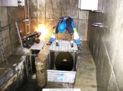 Очистка канализационных труб