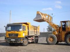 Погрузка сыпучих грузов