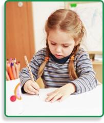 Детский сад с обучением письму
