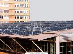 Installation of solar collectors