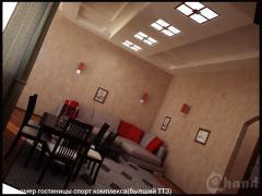 Дизайн гостиниц