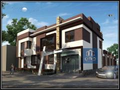 Дизайн домов, коттеджей, магазинов в стиле хай-тек
