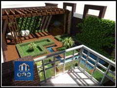 Проектирование дома в стиле хай-тек, дизайн интерьера