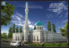Architectural design of buildings of religious