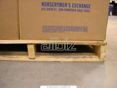 Услуги складирования и хранения грузов на паллетах