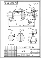 Production of production according to drawings of