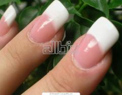 Французское наращивание ногтей