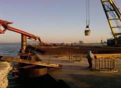 Строительство гидротехнических сооружений