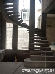 Монолитные лестницы в Ташкенте