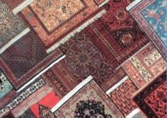 Изготовление ковров из шёлка