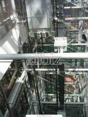 Монтаж шахты лифта