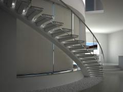 Производство монолитных лестниц